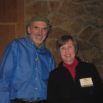 Ken with Rosalind Creasy, author of the Complete Book of Edible Landscaping, one the of speakers at the conference