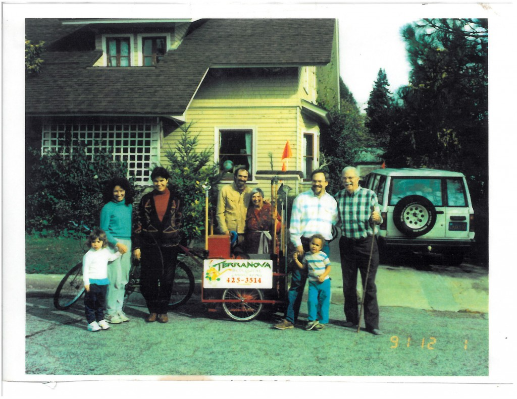 Ken with family 1991